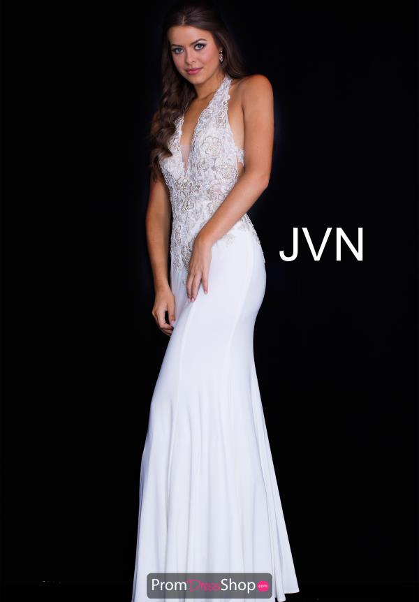 JVN by Jovani Long Fitted Dress JVN51249