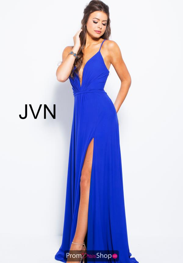 JVN by Jovani Jersey A Line Dress JVN51367