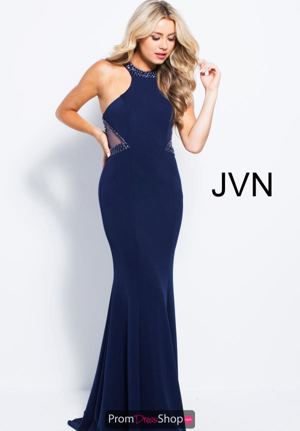 JVN by Jovani Long Jersey Dress JVN53133
