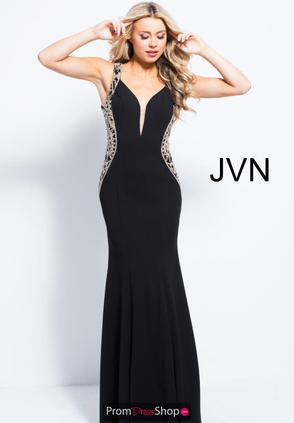 JVN by Jovani Long Jersey Dress JVN53351