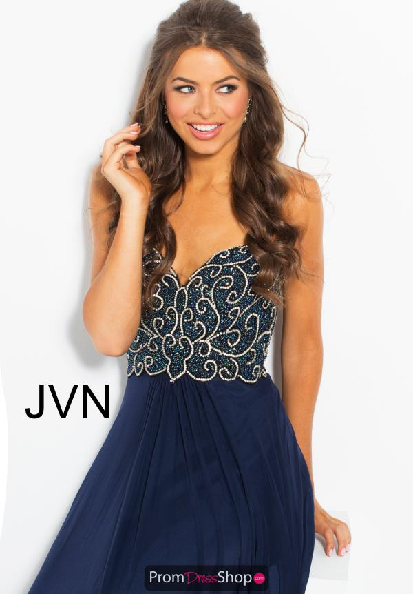 JVN by Jovani Chiffon A Line Dress JVN53367