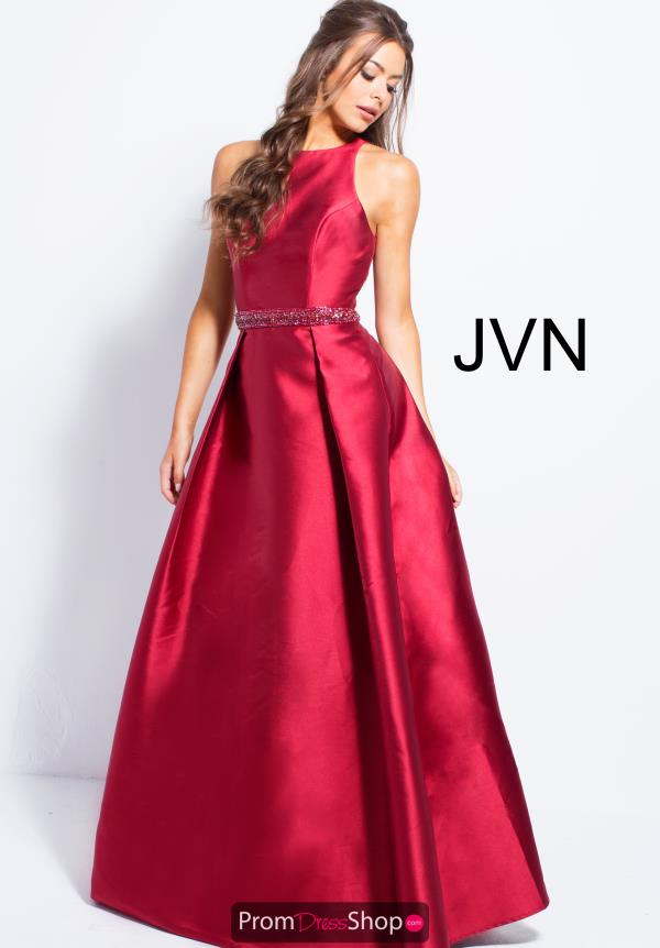 JVN by Jovani Long A Line Dress JVN57913