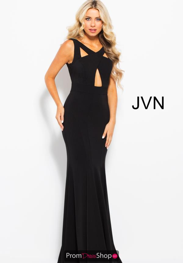 JVN by Jovani High Neckline Long Dress JVN58013
