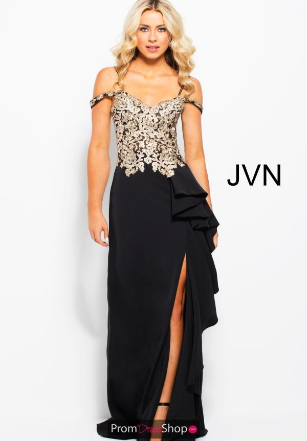 JVN by Jovani Long Fitted Dress JVN58208