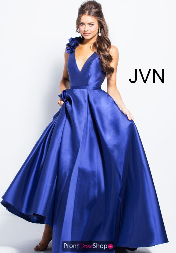 JVN by Jovani Taffeta A Line Dress JVN58962