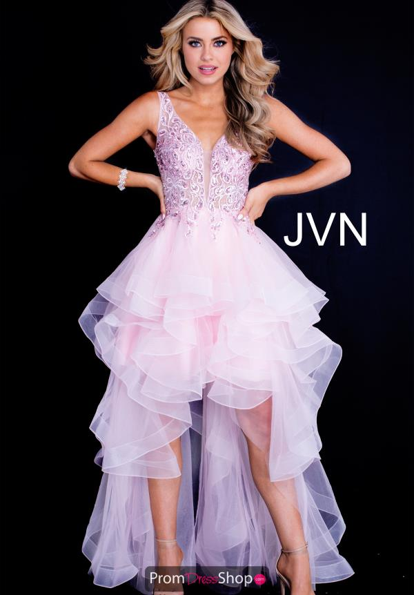 JVN by Jovani Tulle Skirt High Low Dress JVN60563