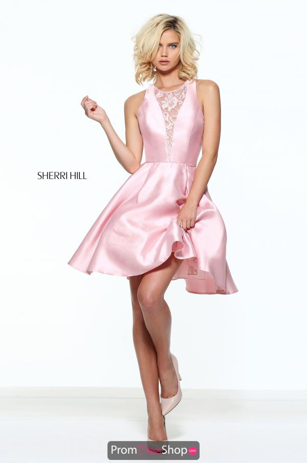 Sherri Hill Short A Line Dress S51073
