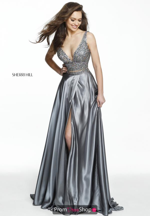 Sherri Hill Long A Line Dress 50993