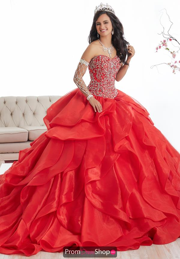 Tiffany Quince Beaded Ball Gown 26867