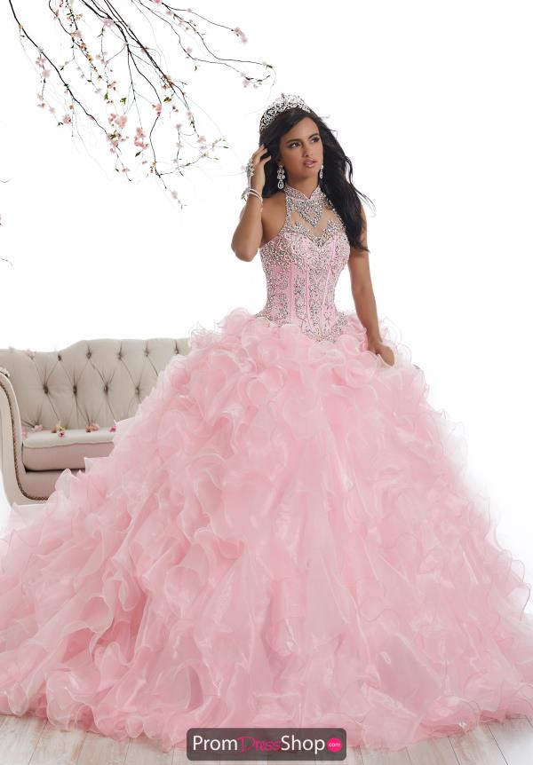 Tiffany Quince Beaded Ball Gown 26871