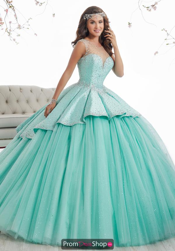 Tiffany Quince Tulle Skirt Beaded Dress 26873