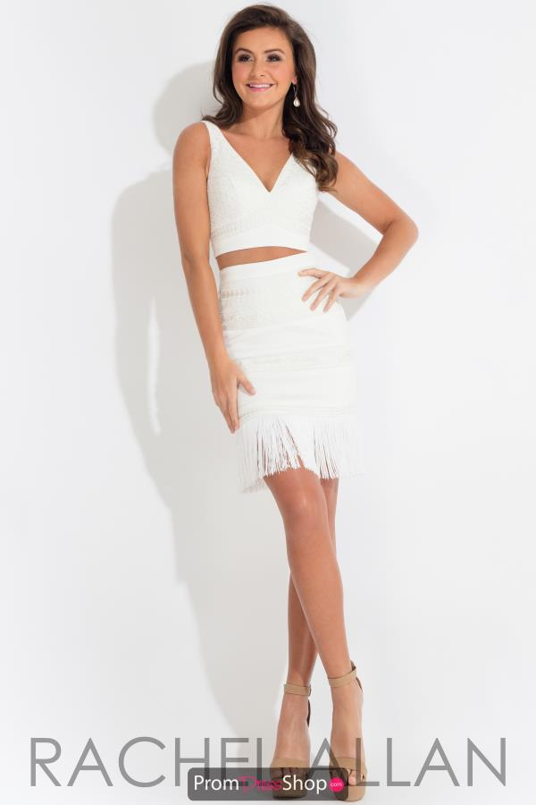 Rachel Allan Fitted Short Dress L1103