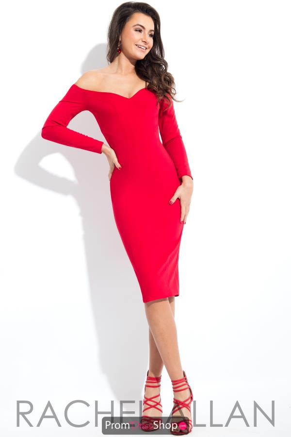 Rachel Allan Jersey Fitted Dress L1121