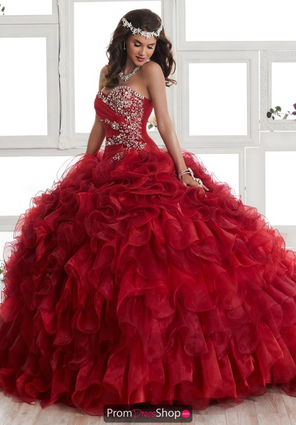 Tiffany Quinceanera Beaded Ball Gown 24011