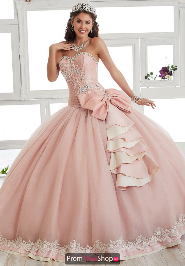 Tiffany Quince Beaded Ball Gown 24013