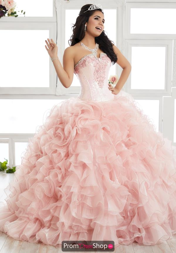 Tiffany Quinceanera Strapless Ball Gown 24015