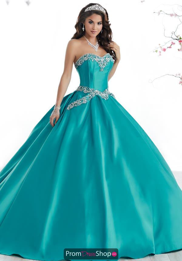 Tiffany Quince Satin Ball Gown 56322