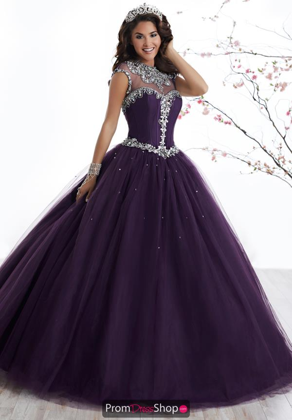 Tiffany Quinceanera Tulle Skirt Ball Gown 56324