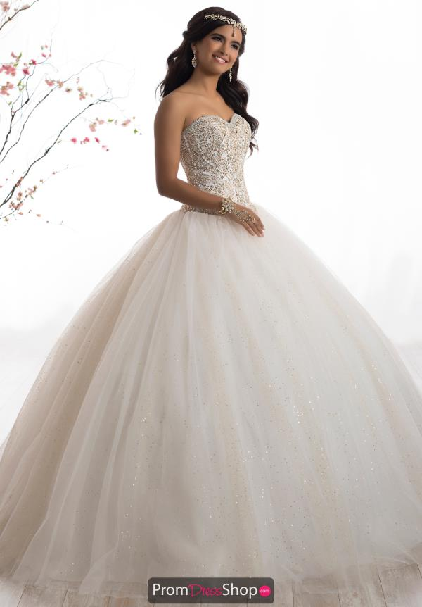 Tiffany Quinceanera Strapless Ball Gown 56328