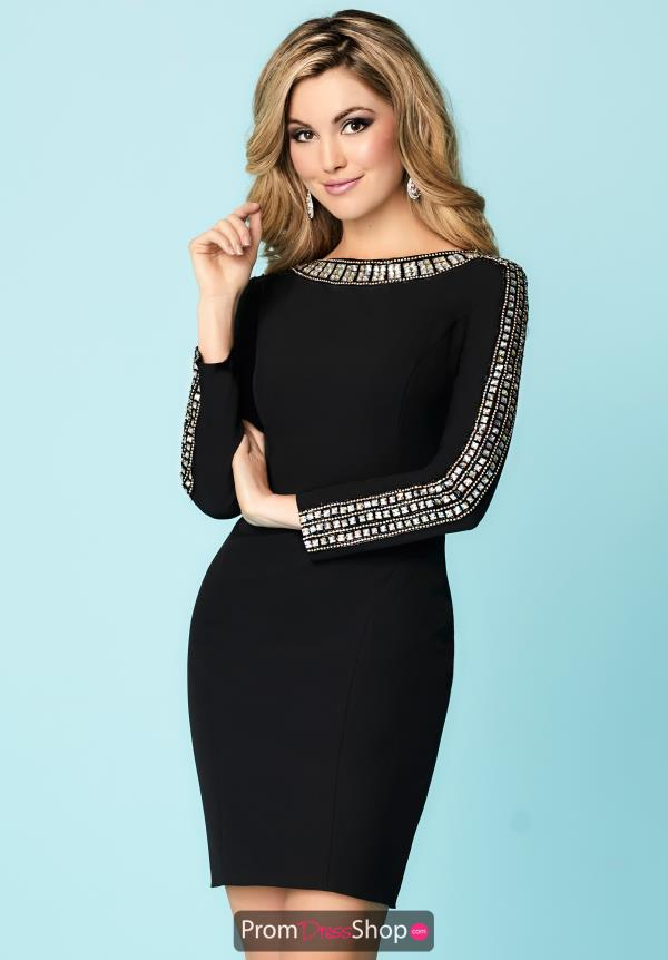 Hannah S Sleeved Fitted Dress 27143