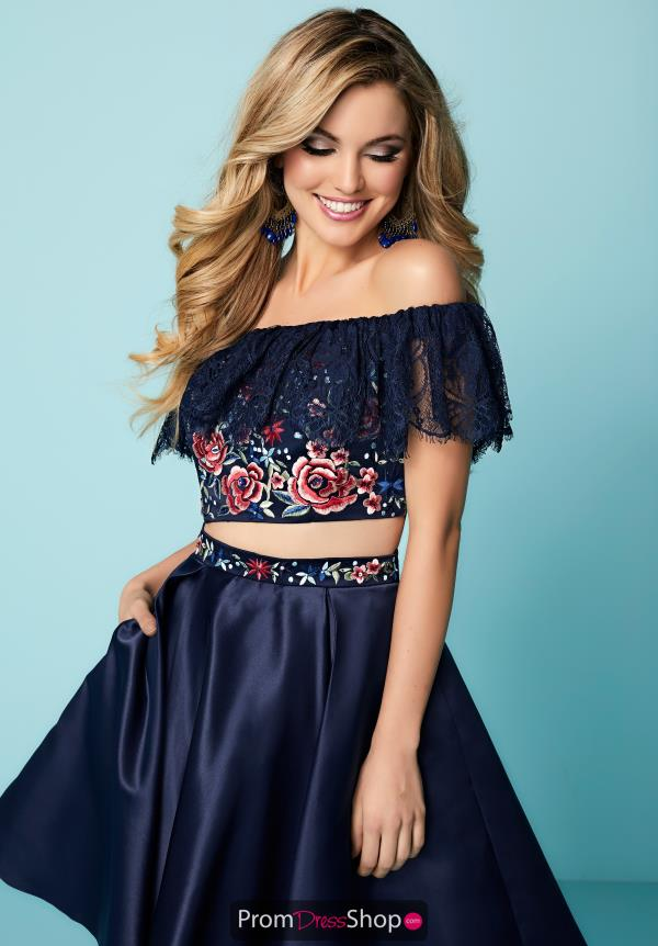 Hannah S Two Piece A Line Dress 27144