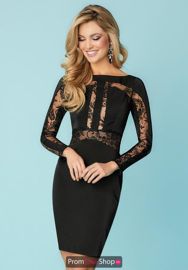 Hannah S Short Lace Dress 27156