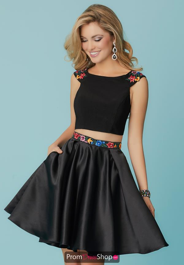 Hannah S Two Piece Short Dress 27177