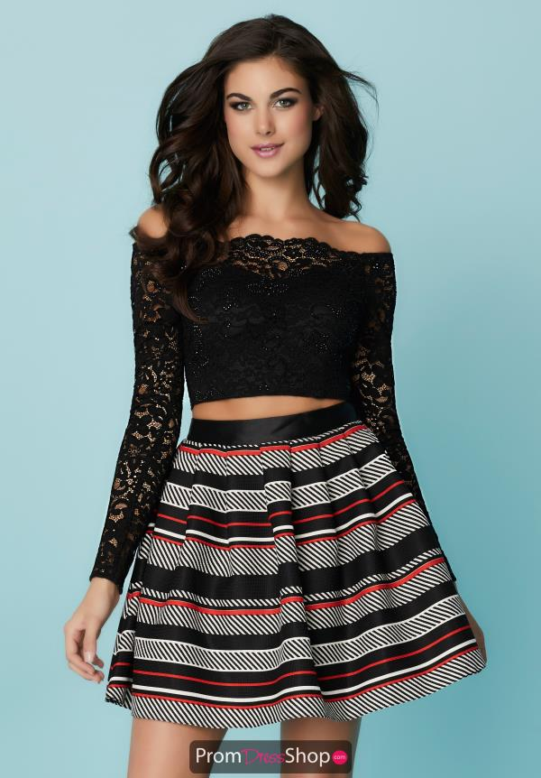 Hannah S Two Piece A Line Dress 27193