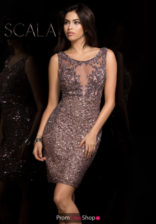 Scala Beaded Short Dress 48742