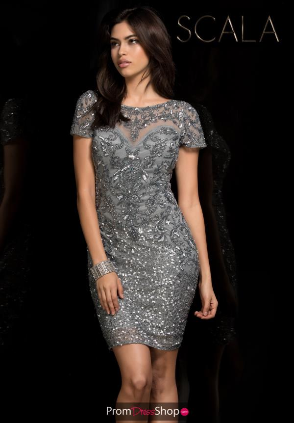 Scala Short Beaded Dress 48777