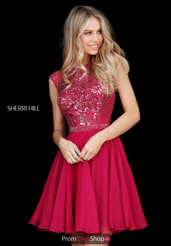 9a62ffe097 Sherri Hill Short Dress 51293