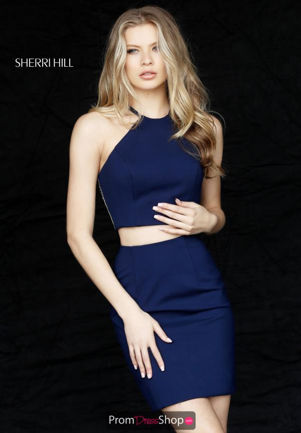Sherri Hill Short Two Piece Dress 51321