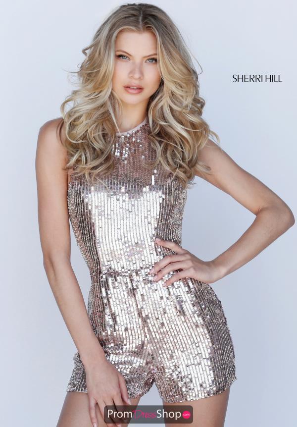 675ff5dc681 Sherri Hill Short Dress 51513 | PromDressShop.com