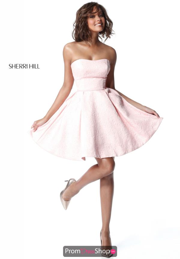 Sherri Hill Short A Line Dress 51518