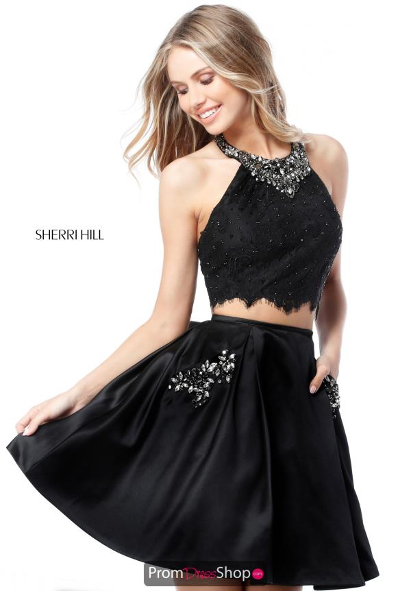 Sherri Hill Short A Line Dress 51520