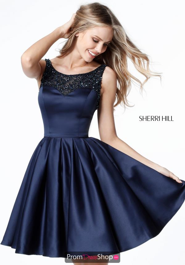 Sherri Hill Short A Line Dress 51524