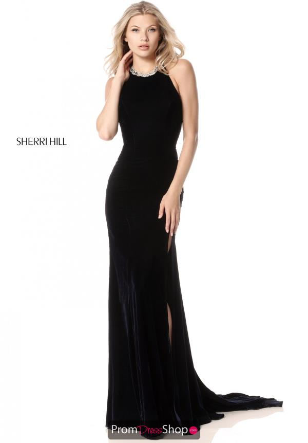Sherri Hill Beaded Fitted Dress 51400