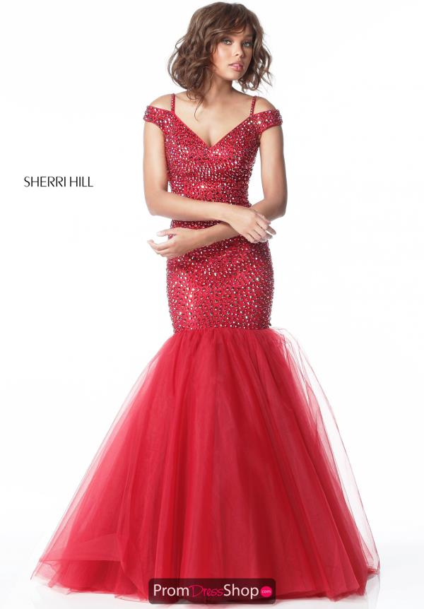 Sherri Hill Fitted Iridescent Dress 51446