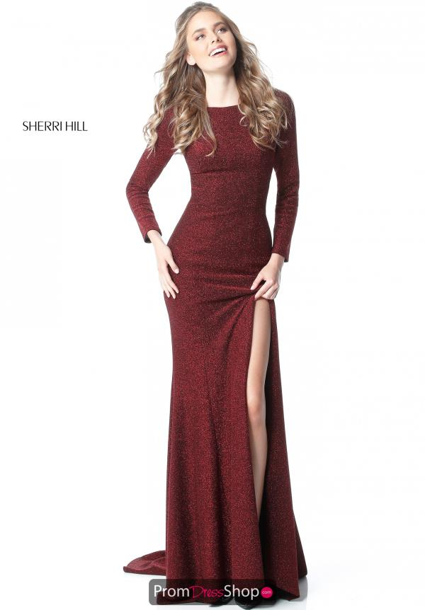 Sherri Hill Sexy Back Long Dress 51529
