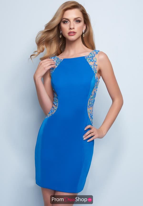 Splash Short Beaded Dress E771