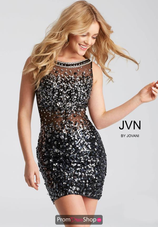 JVN by Jovani Short Fitted Dress JVN32403