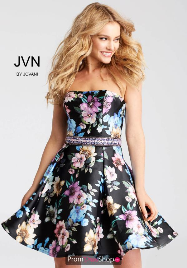JVN by Jovani A Line Dress JVN53109