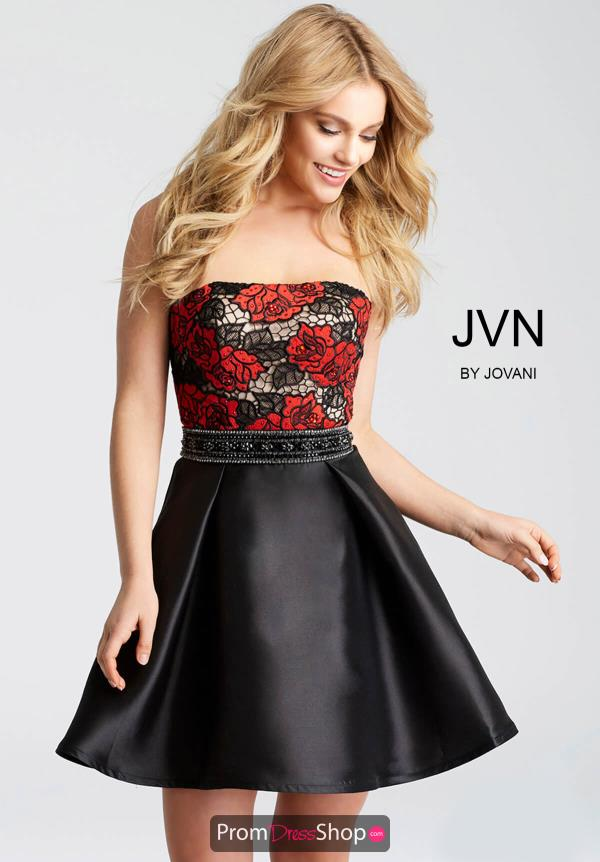 JVN by Jovani Black Dress JVN53110