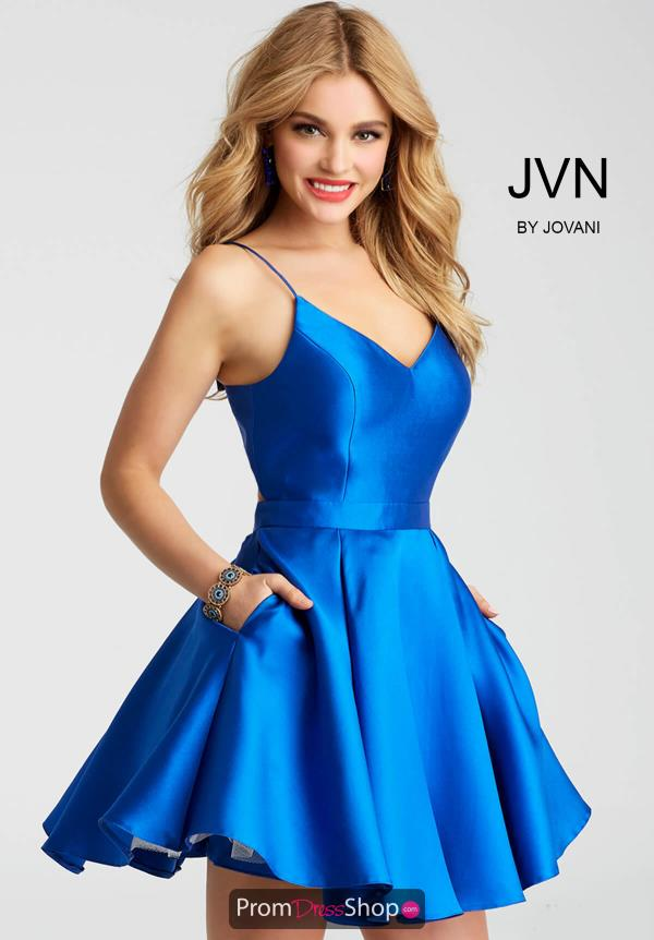 JVN by Jovani Taffeta Dress JVN53202