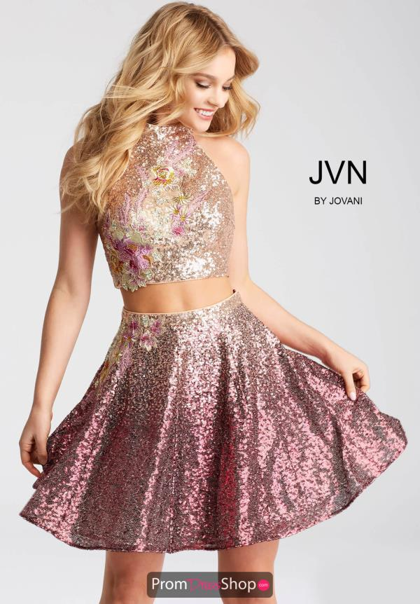 JVN by Jovani Sequins Dress JVN54472