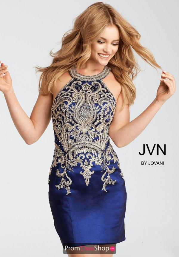 JVN by Jovani Open Back Dress JVN55146