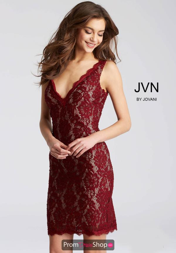 JVN by Jovani Fitted Dress JVN55157