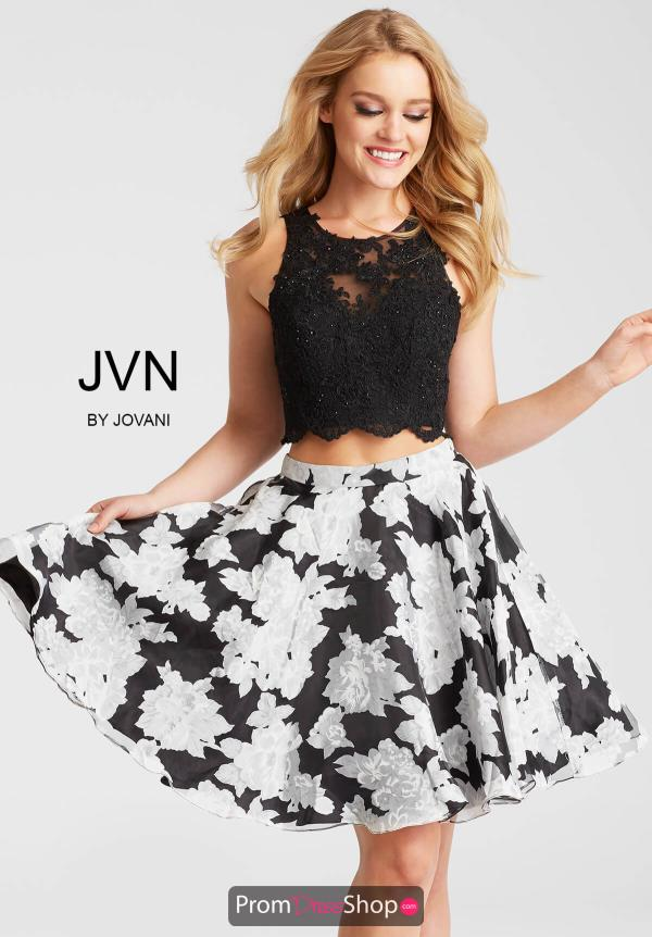 JVN by Jovani Print Dress JVN57597