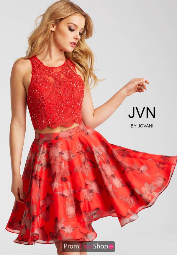 JVN by Jovani A Line Dress JVN58250