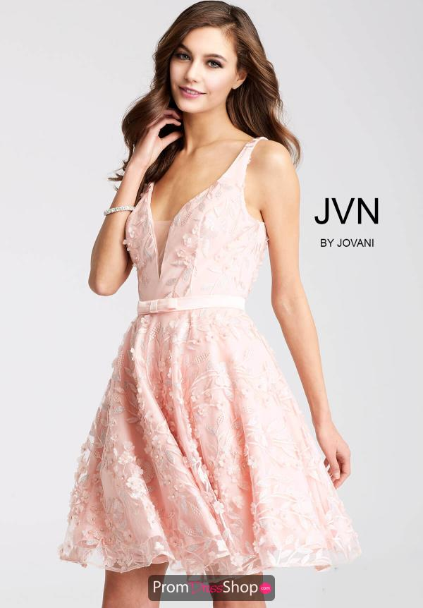 JVN by Jovani A Line Dress JVN53052